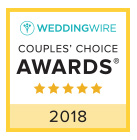 WeddingWire Couples Choice Badge 2018