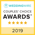 WeddingWire Couples Choice Badge 2019