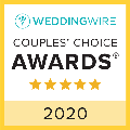 WeddingWire Couples Choice Badge 2020